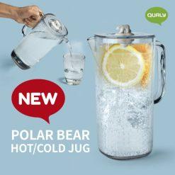 Polar bear hot and cold jug